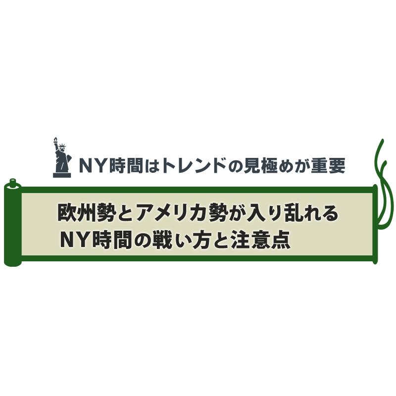 値幅が最も大きくなるニューヨーク時間の特徴