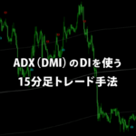 ADX(DMI)のDIを使う15分足トレード手法