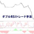 RSIを2つ使うダブルRSIトレード手法
